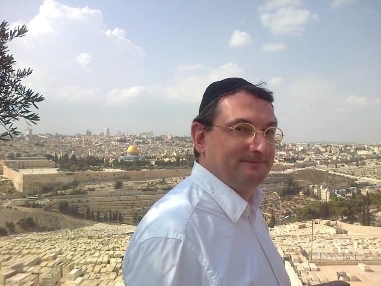 Didier Long à Jérusalem