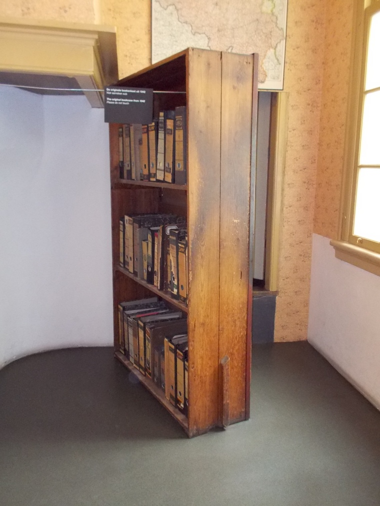 armoire-maison d'Anne Frank