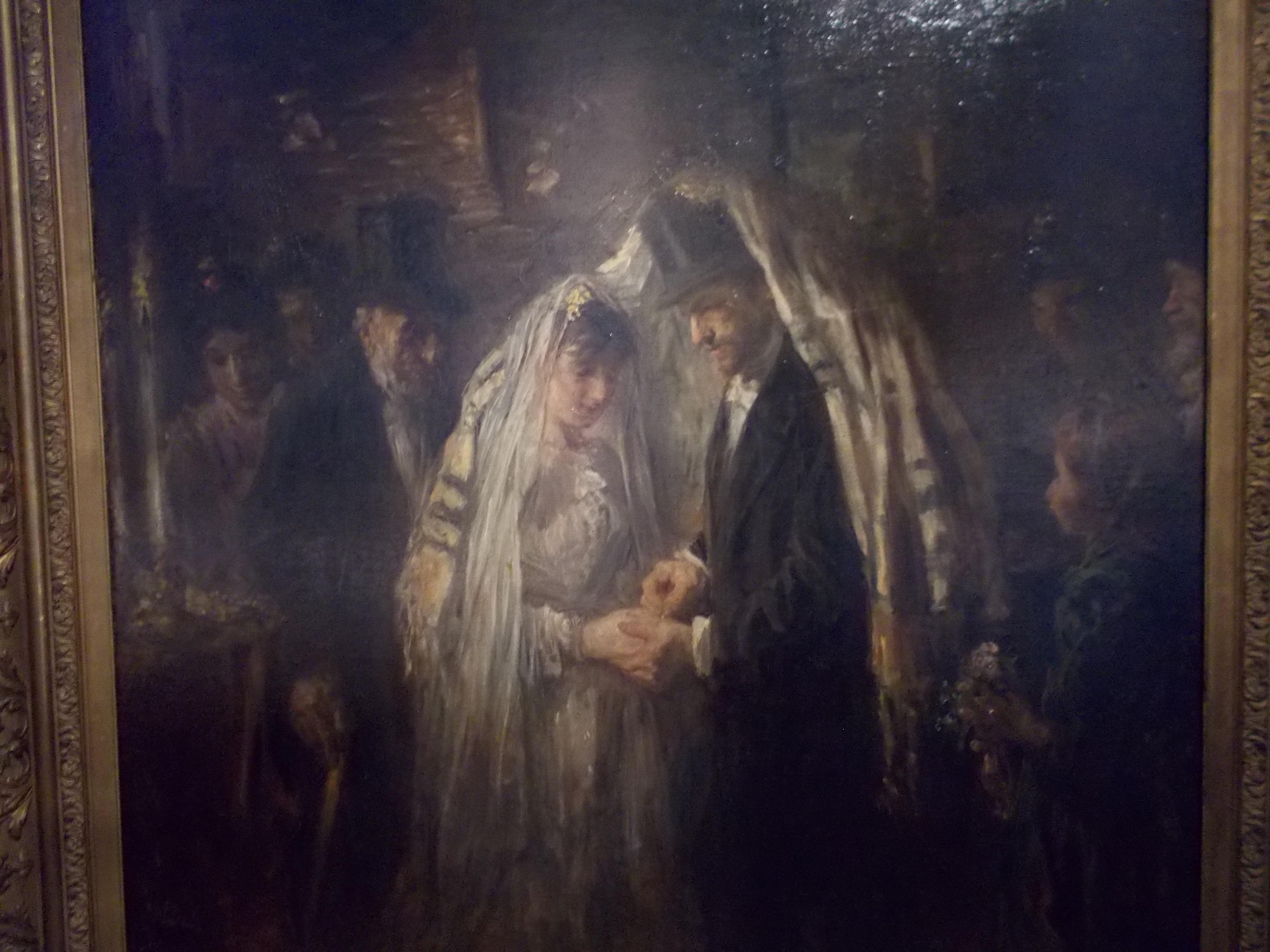 Mariage juif, Jozef Israëls,(1824-1911), 1903.