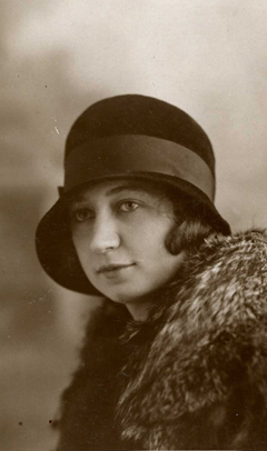 Miep Gies au début des années 1930