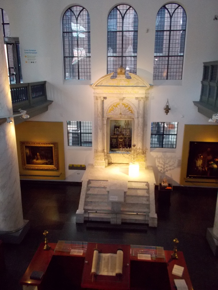 Synagogue ashkénaze-Amsterdam