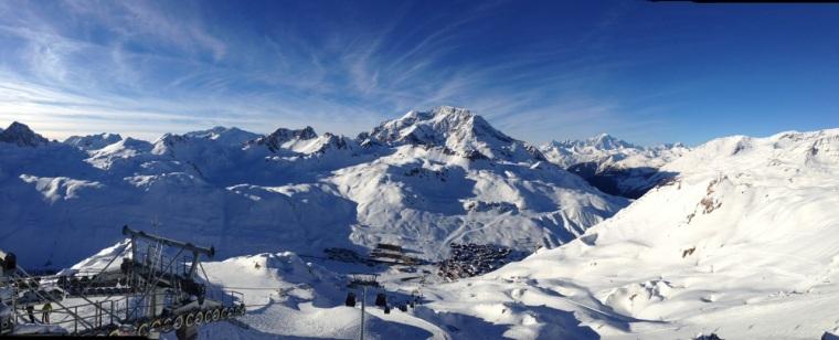 Vallée de l'Isère et Mont Blanc