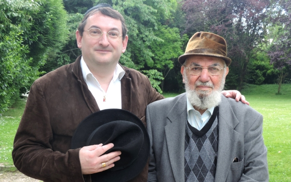 Haïm Harboun et Didier Long