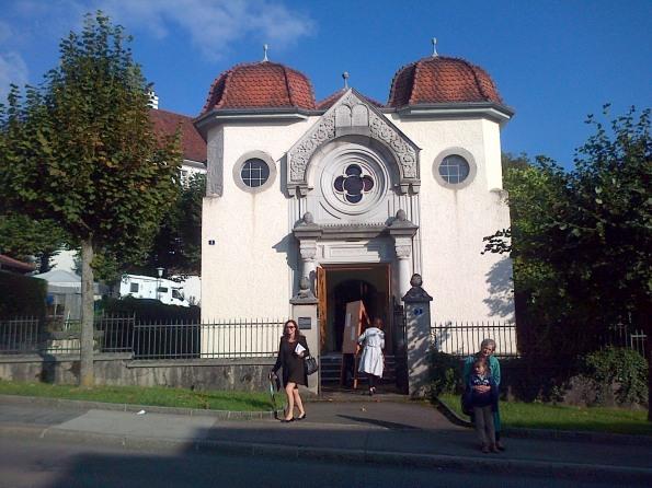 La synogogue de Delémont (Jura Suisse)