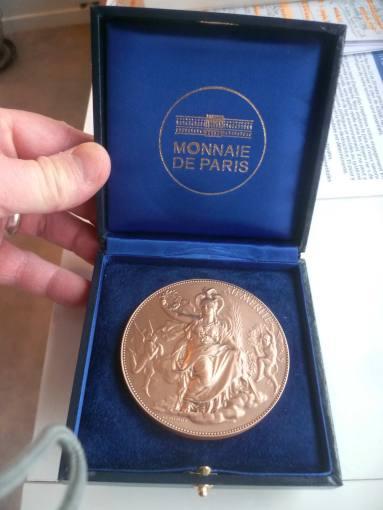 Olivier Long- Citoyen-d'honneur de la Ville de Fontainebleau