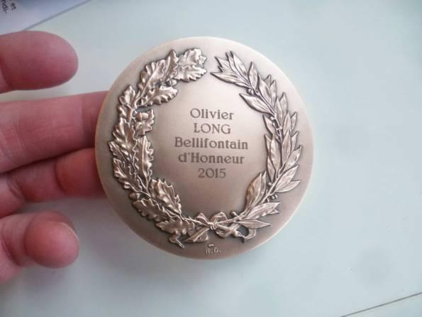 Olivier Long-Citoyen d'honneur fontainebleau2