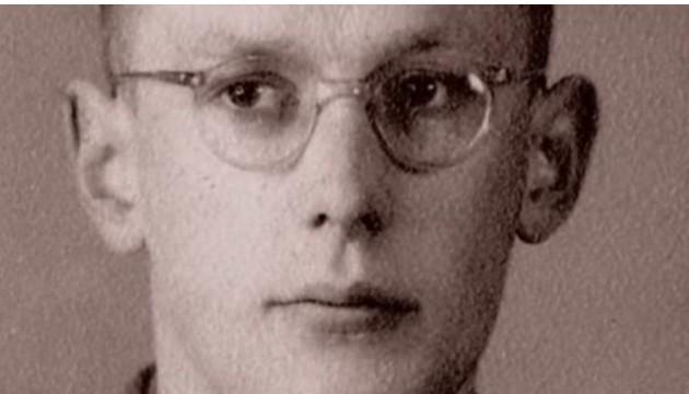 Oskar Gröning jeune, pendant la Seconde Guerre mondiale.(Capture d'écran/BBC)
