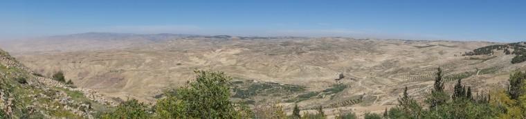 Vue du mont Nébo (2)
