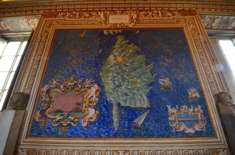 Carte de Corse du XVIè s