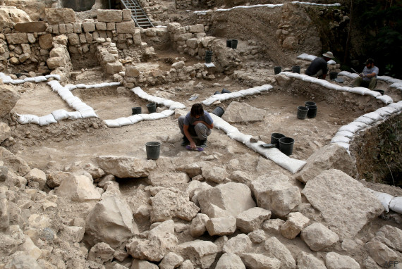 ISRAEL-ARCHAEOLOGY-CITADEL-CULTURE