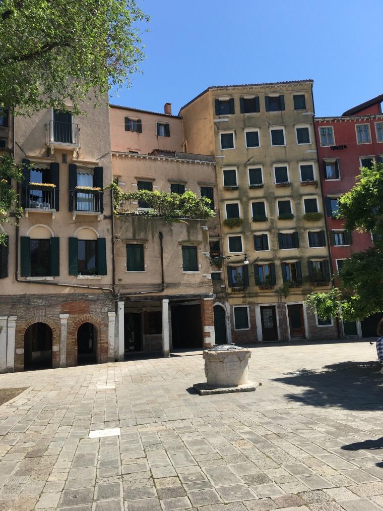 Ghetto de Venise  le Campo du Ghetto Nuovo